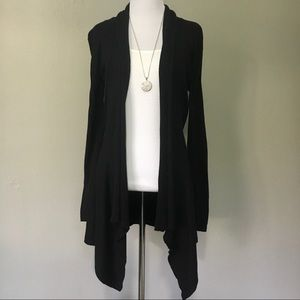 Marty M Long Open Front Cardigan